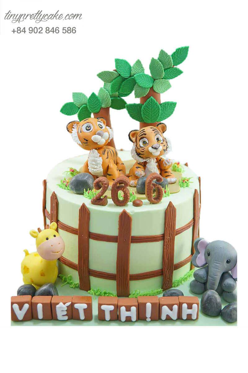 bánh sinh nhật cho bé tuổi dần