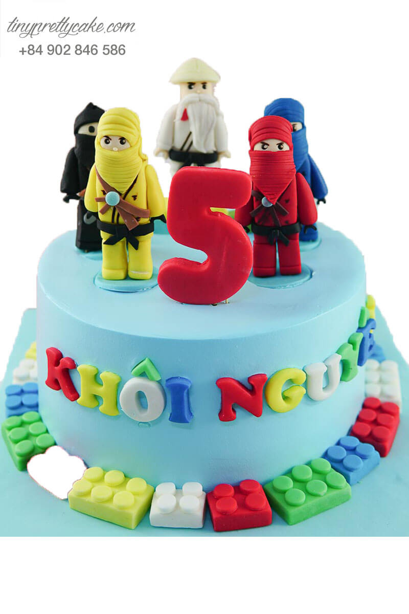 bánh sinh nhật ninja lego