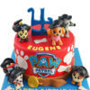 bánh sinh nhật Paw Patrol