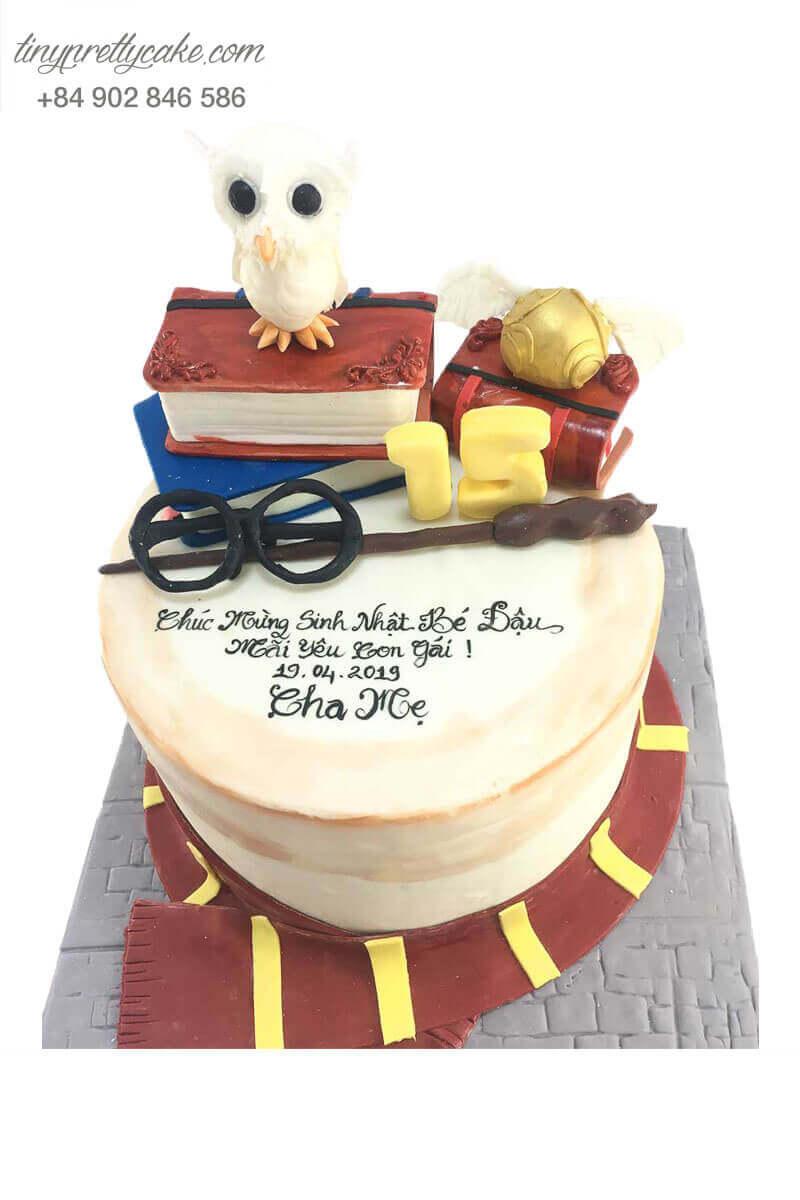 bánh kem Harry Potter