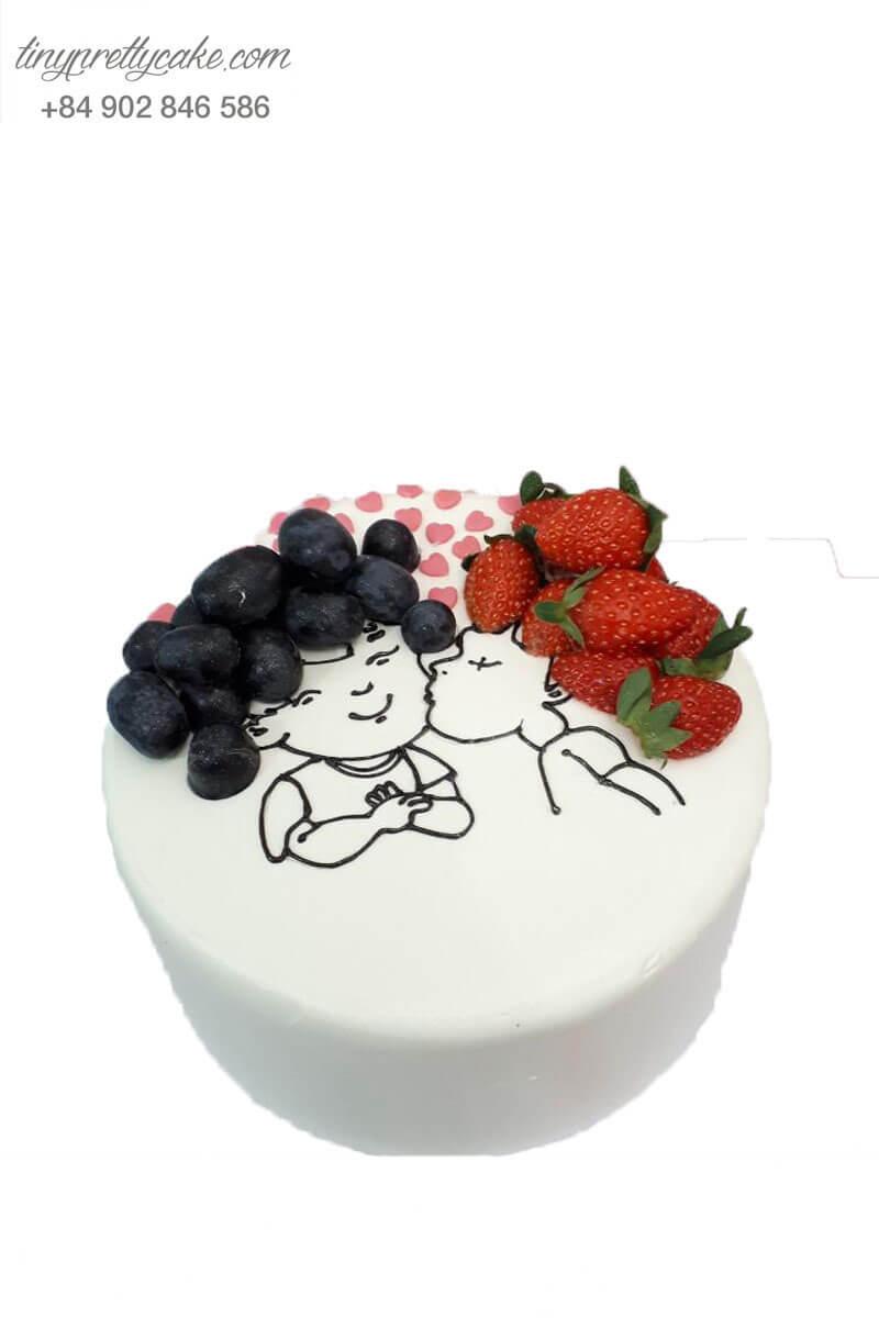 bánh kem cho vợ chồng trẻ