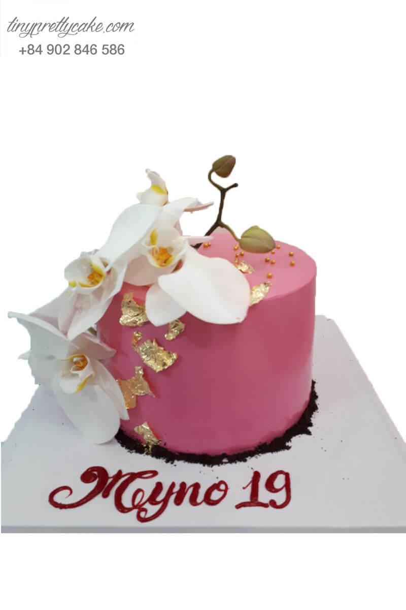 bánh kem hình hoa cho phụ nữ