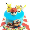 bánh kem hình pikachu