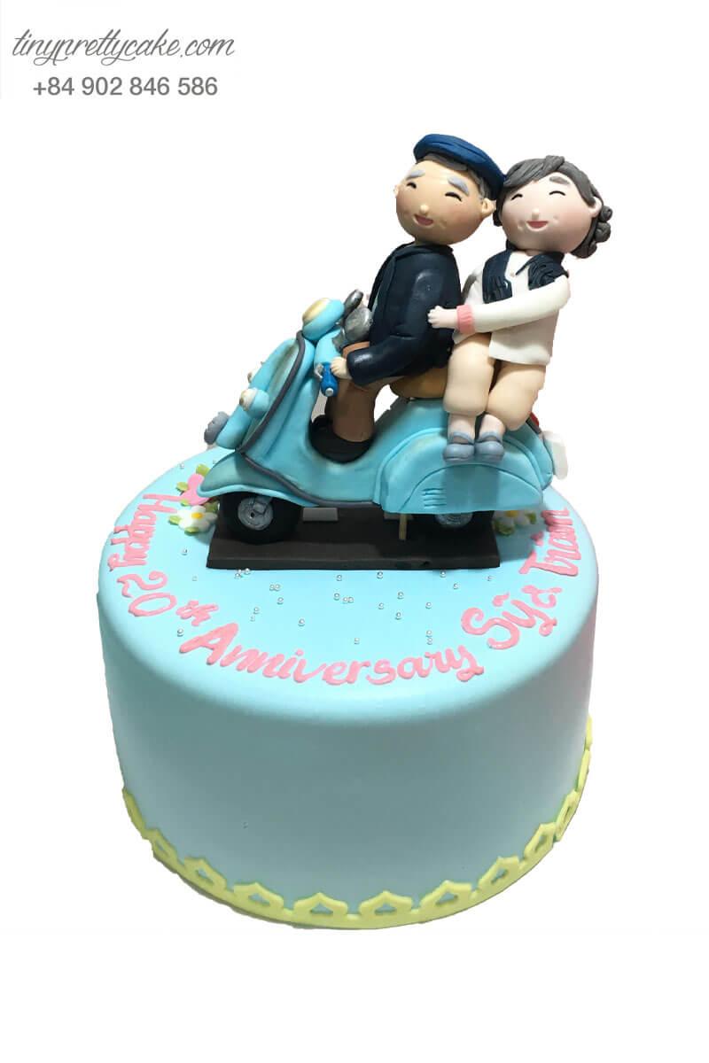 bánh kem kỉ niệm ngày cưới vợ chồng