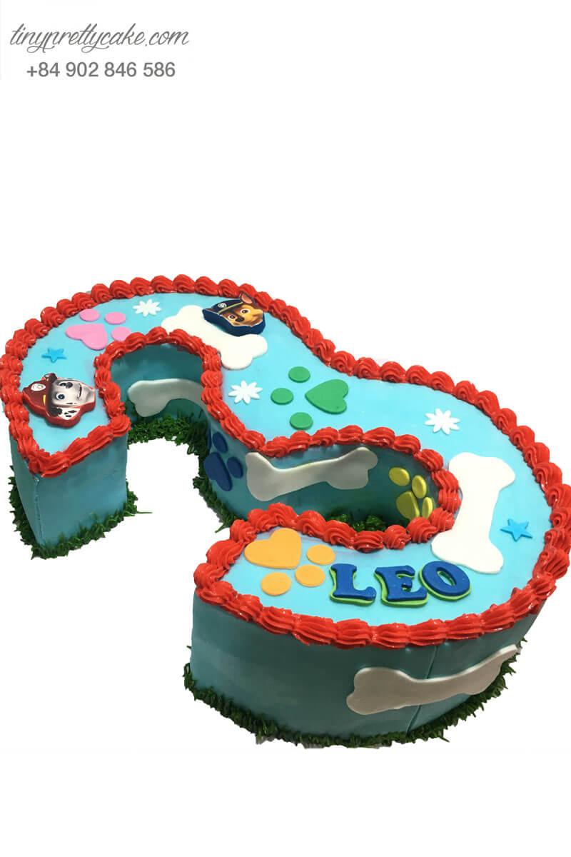 bánh sinh nhật 3 tuổi cho bé tuổi tuất