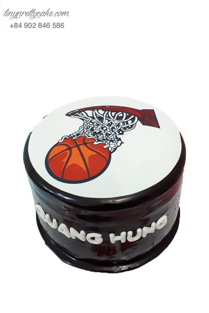 bánh sinh nhật bóng rổ