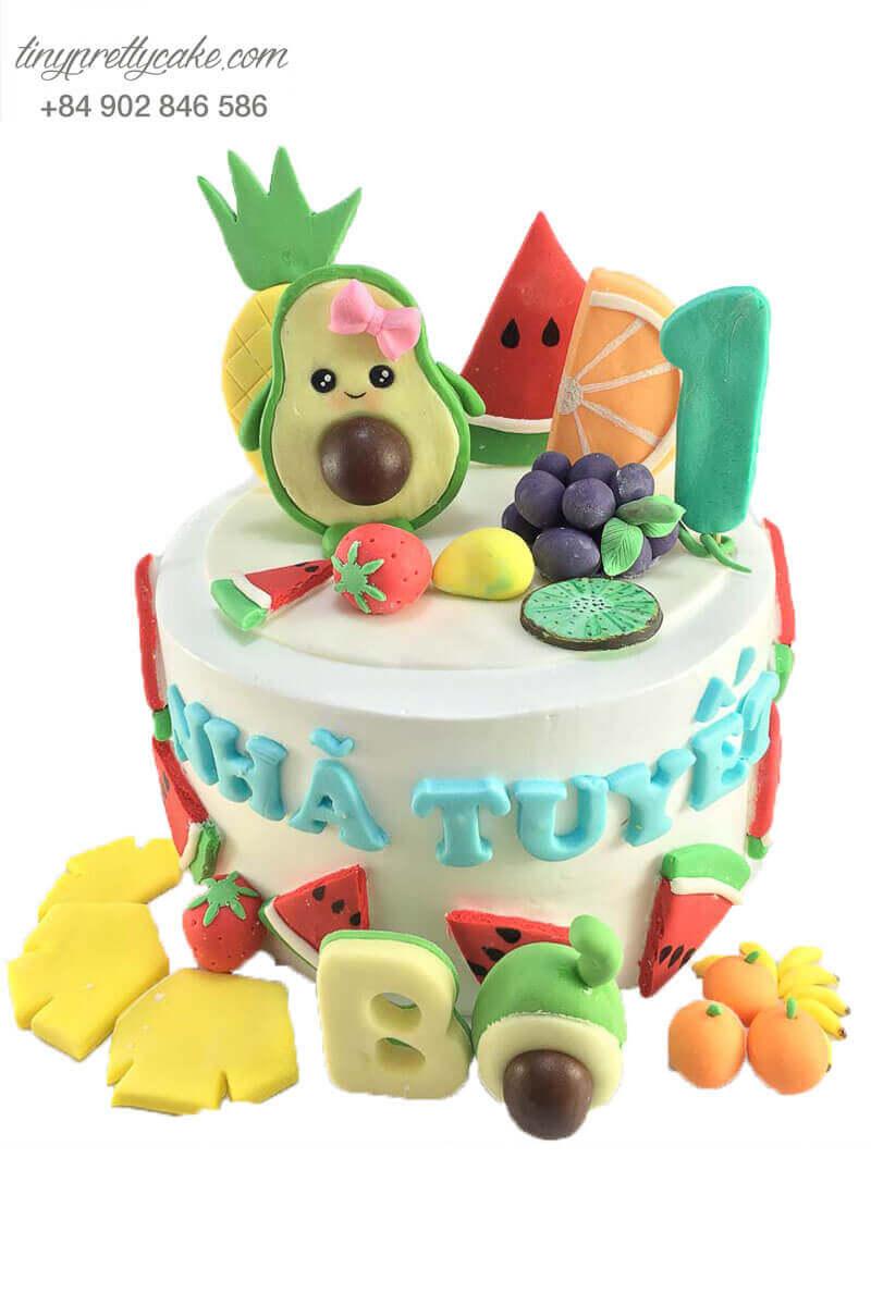 bánh sinh nhật cho bé tạo hình trái cây ngộ nghĩnh