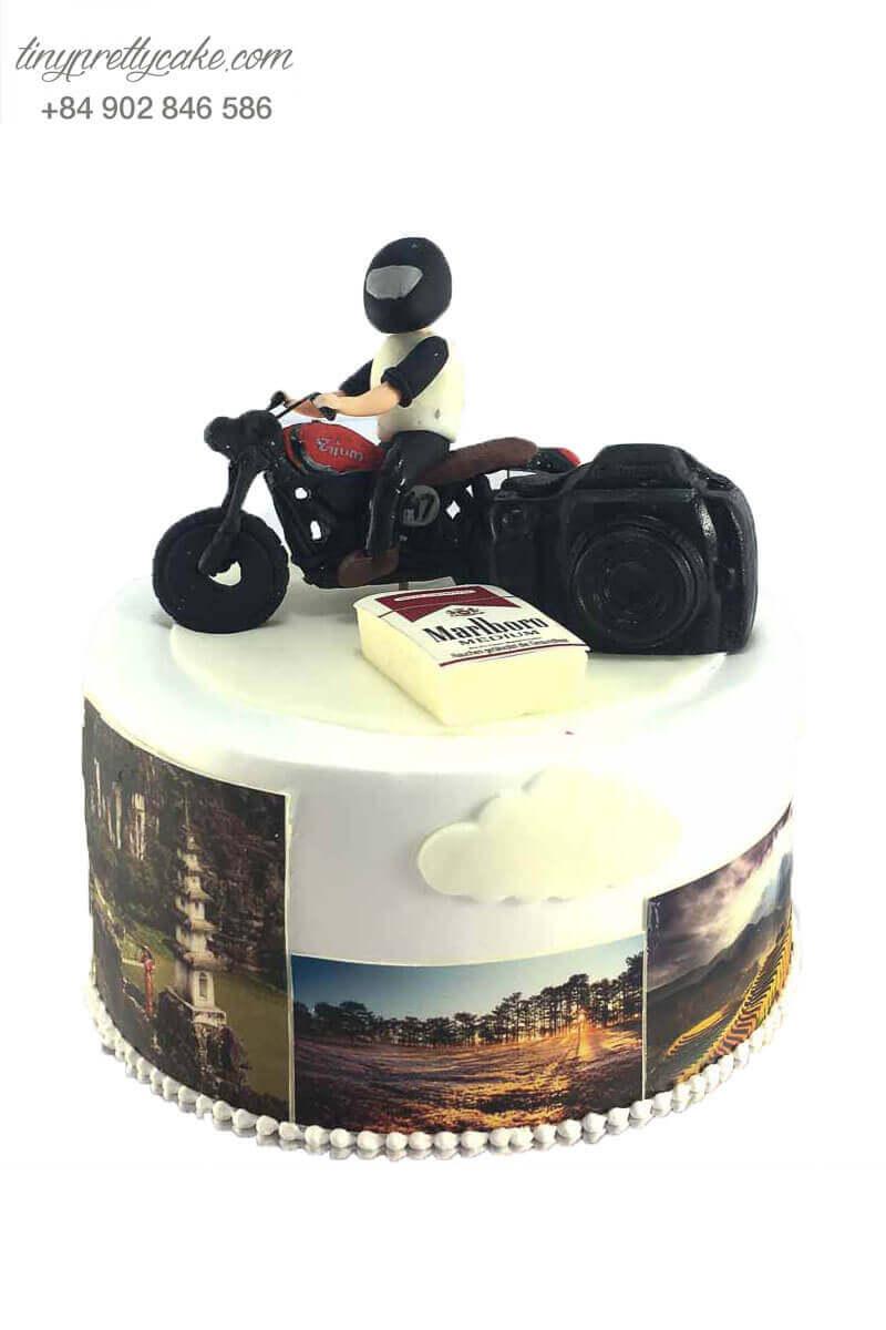 bánh sinh nhật cho phượt thủ