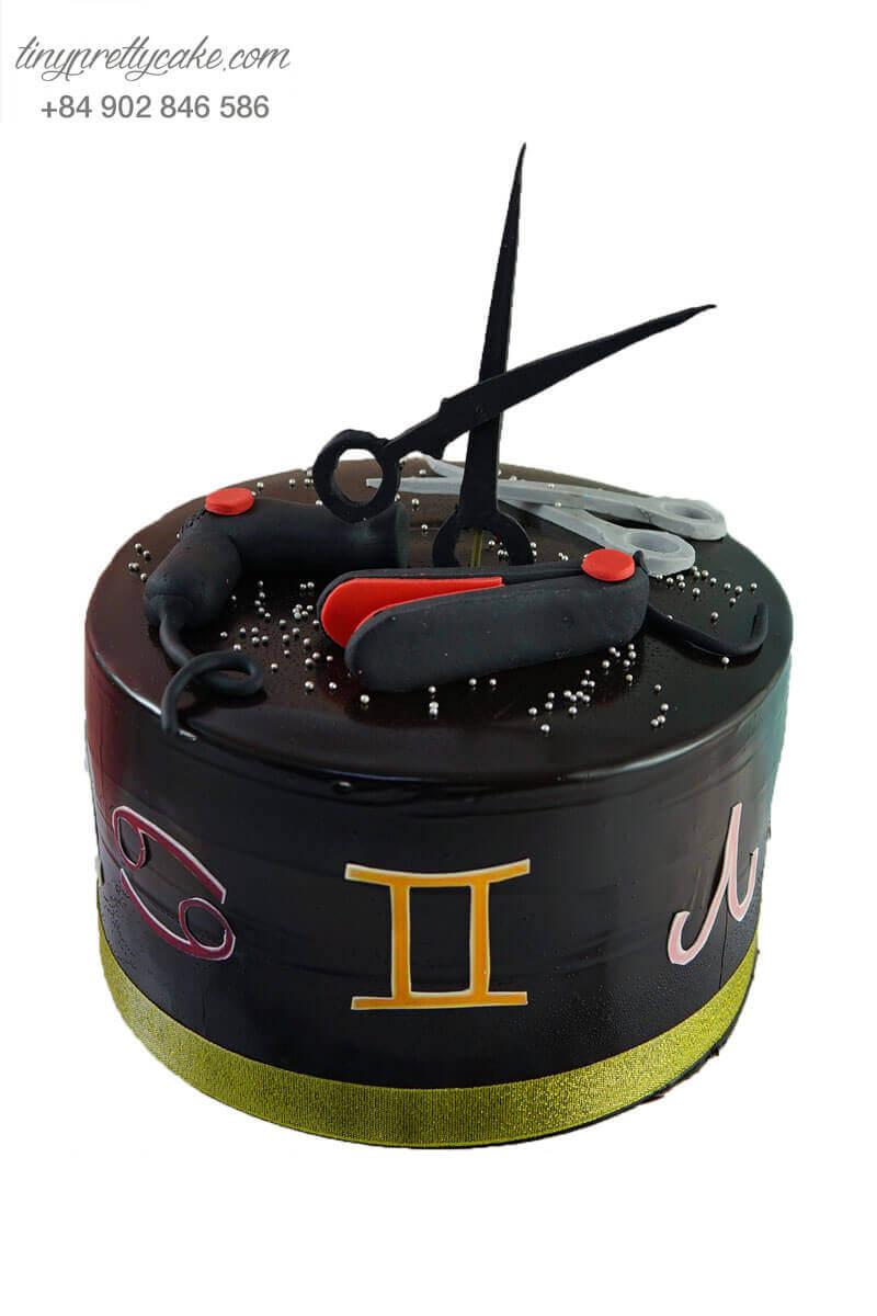 bánh sinh nhật cho thợ làm tóc