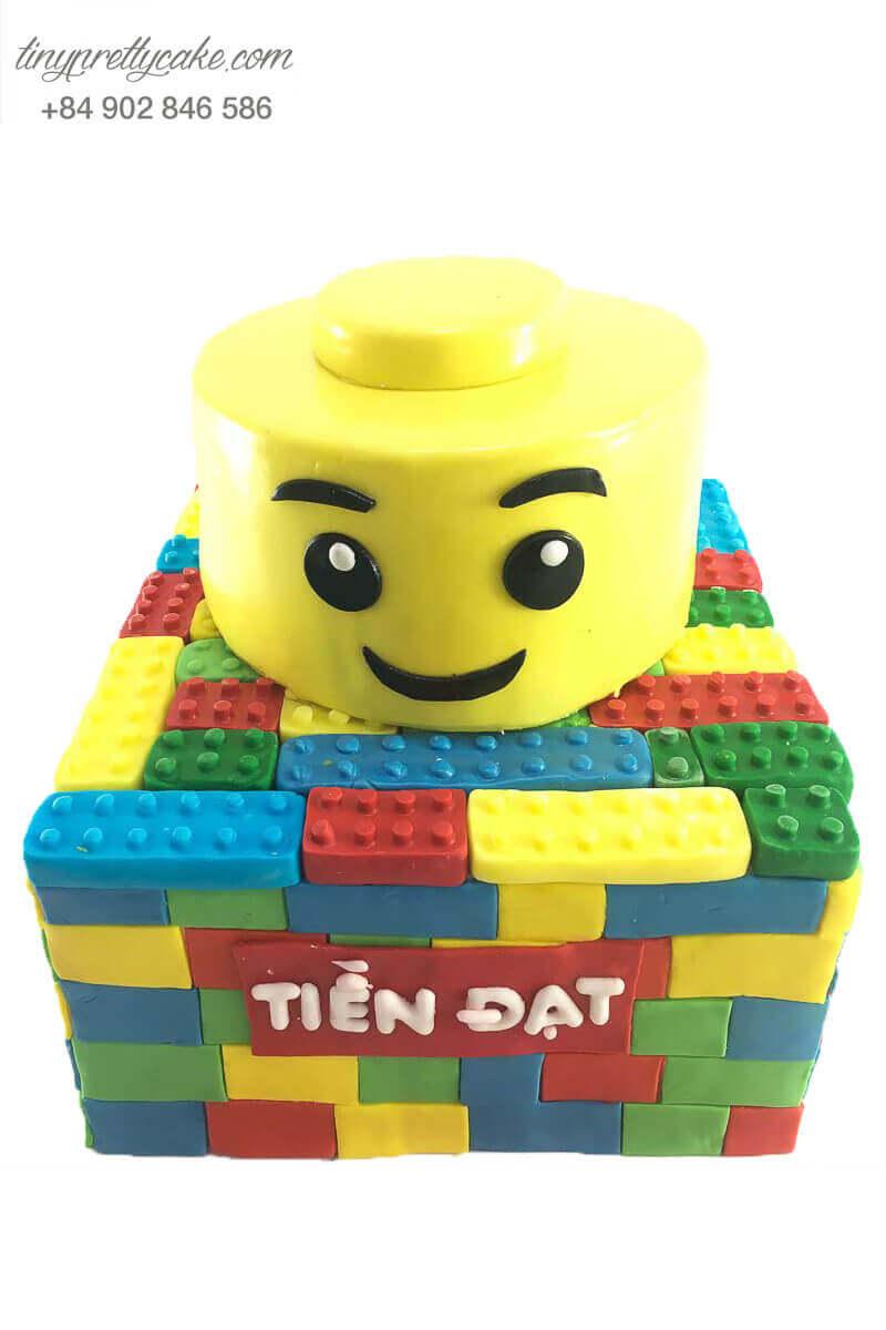 bánh sinh nhật hình lego