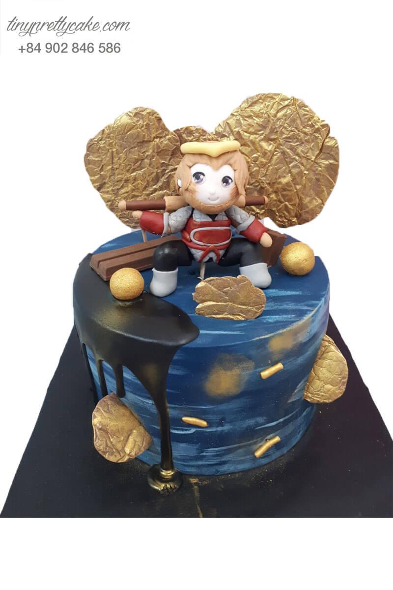 bánh sinh nhật hình tề thiên đại thánh