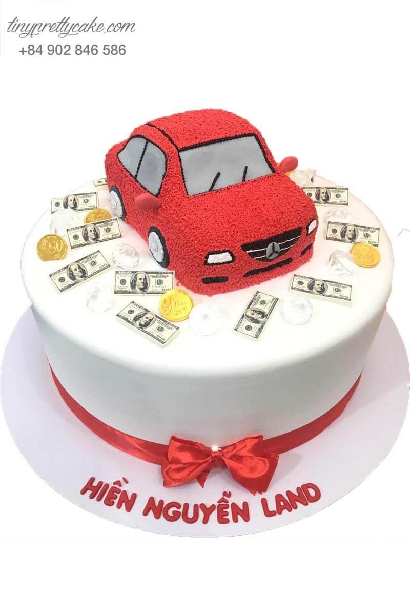 bánh sinh nhật hình xe cho bạn trai