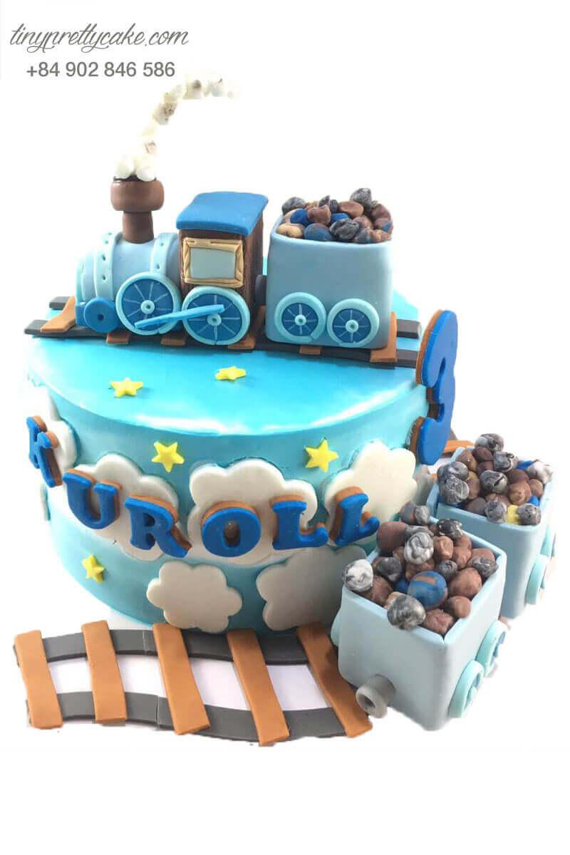 bánh sinh nhật xe lửa