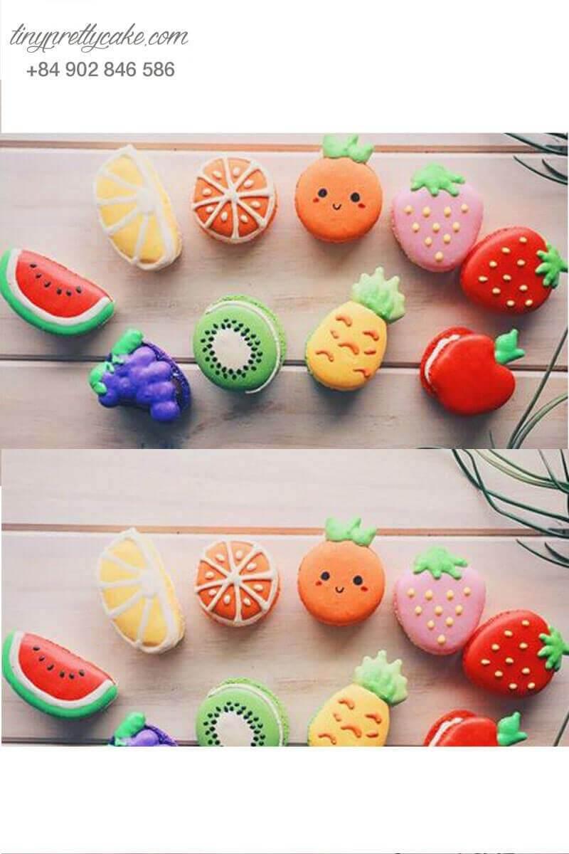macaron trái cây