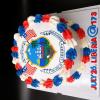 Bánh kem bơ in hình logo lá cờ