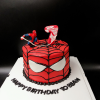 Bánh kem bơ spiderman (người nhện)