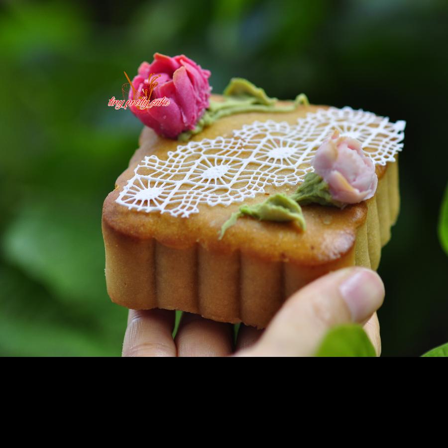 Floral Mooncake - Bánh trung thu sắc hoa 3