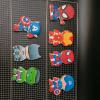 bánh cookie in hình chủ đề siêu nhân