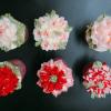 cupcake hoa kem bơ