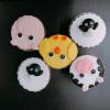 5 cupcake thú