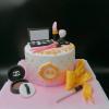 Bánh fondant sinh nhật cho nữ chủ đề Chanel