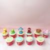 10 cupcake thú size nhỏ