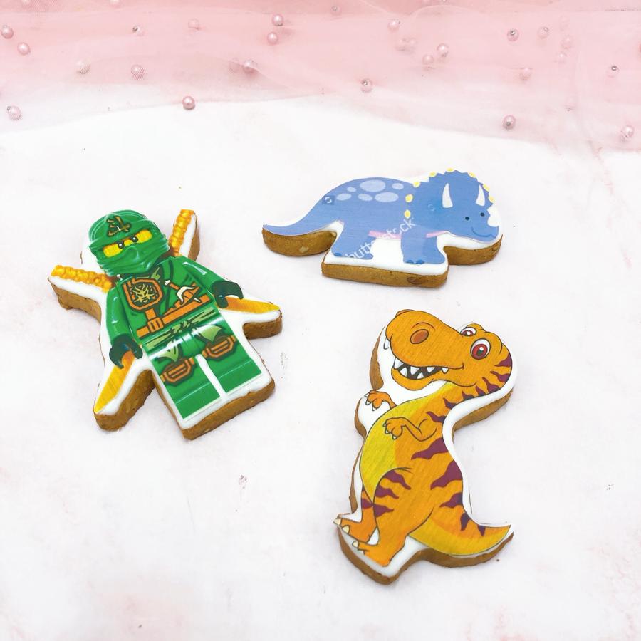 3 cookie in hình cho bé trai