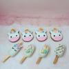 4 bánh cookie chủ đề unicorn cho bé gái