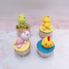 4 cupcake thú như mẫu, size lớn