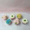 6 cupcake bắt hoa kem bơ