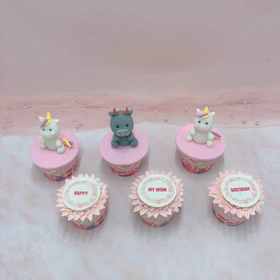 6 cupcake cho bé size nhỏ