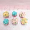 6 cupcake hoa kem bơ như mẫu size nhỏ