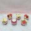 6 cupcake hoa kem bơ