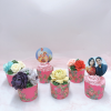 6 cupcake hoa và hình in như mẫu size lớn