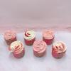 6 cupcake kem bơ đơn giản size lớn