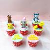 8 bánh cupcake thú size nhỏ