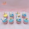 Cupcake unicorn dành cho bé gái