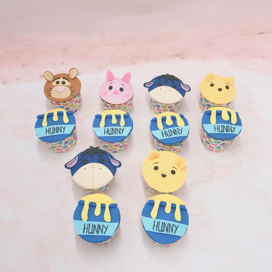 Cupcake gấu Pooh
