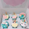 cupcake unicorn sz nhỏ