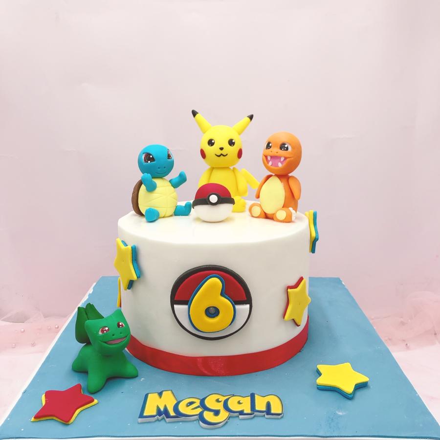 Bánh đường pikachu và pokemon