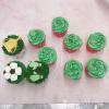 Bánh cupcake bóng đá