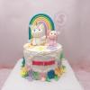 Bánh fondant unicorn đặc biệt cho bé