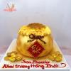 Bánh kem túi vàng mẫu Tài Lộc