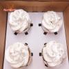 Cupcake xoắn kem sữa