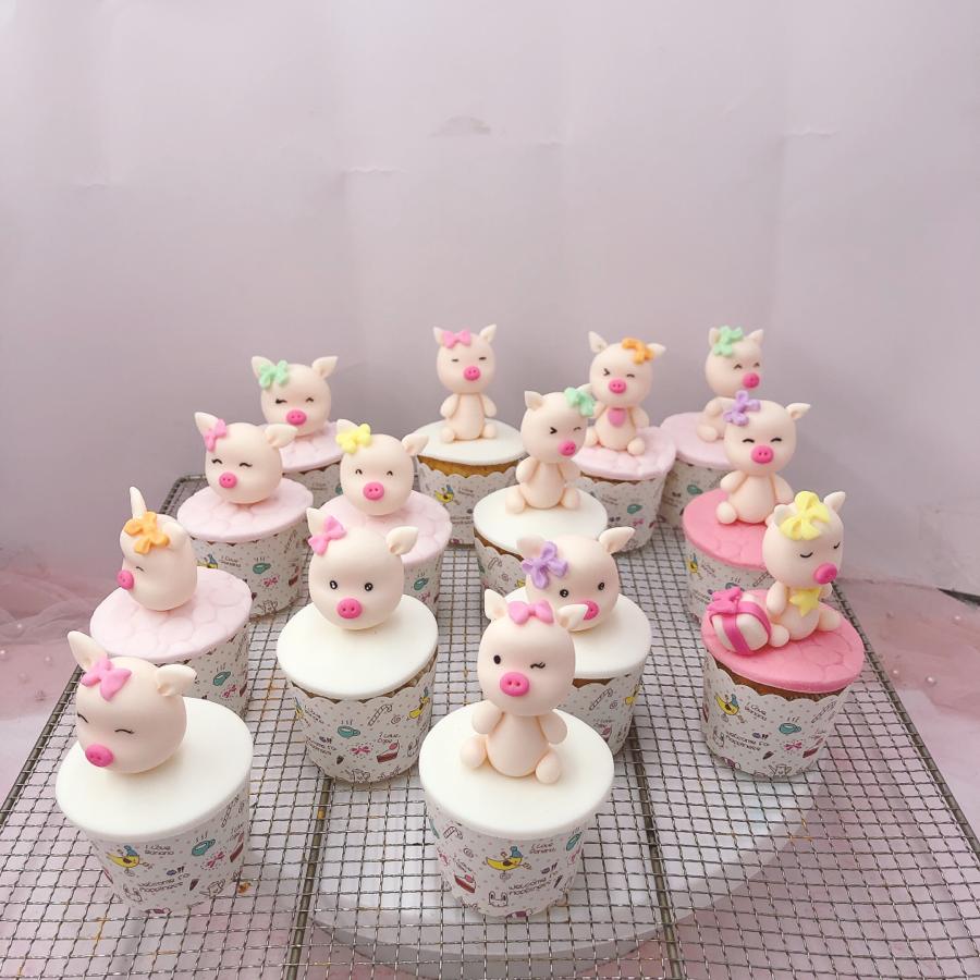 14 cupcake heo