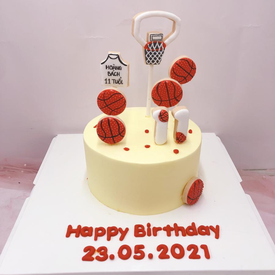 Bánh kem bóng rổ